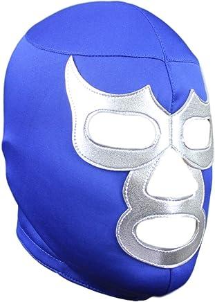 Deportes Martinez Blue Demon Lycra Lucha Libre Luchador Mask Adult Size