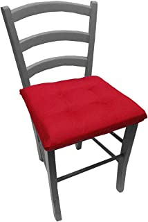 Amazon.it: cuscini sedie rossi