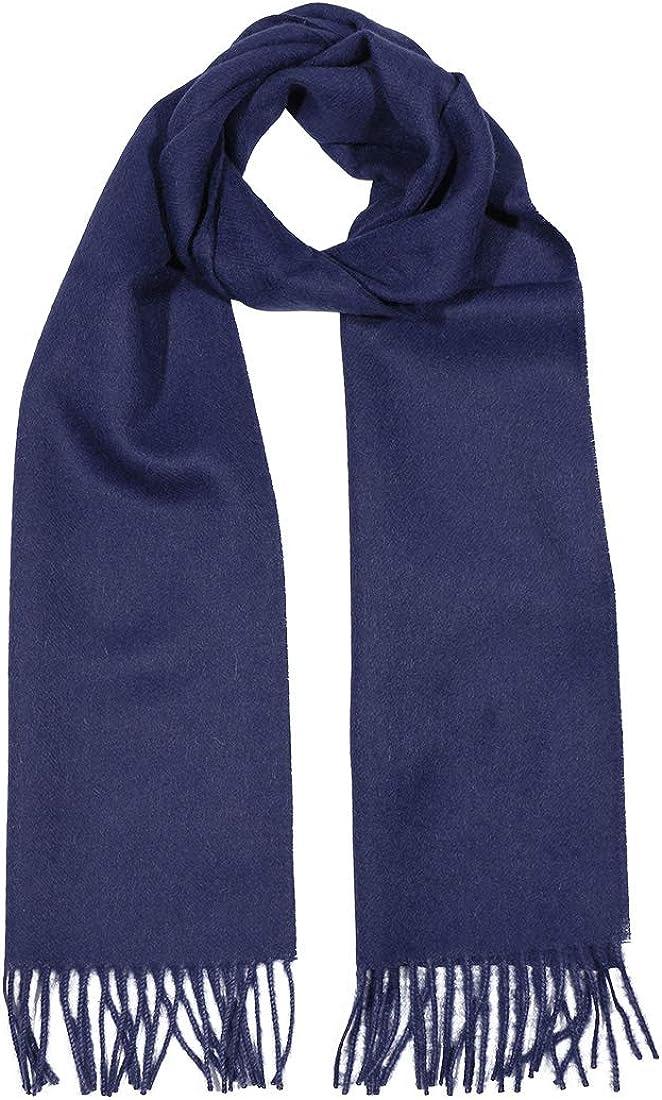 Woven 100% Pure Baby Alpaca Wool Scarf Unisex