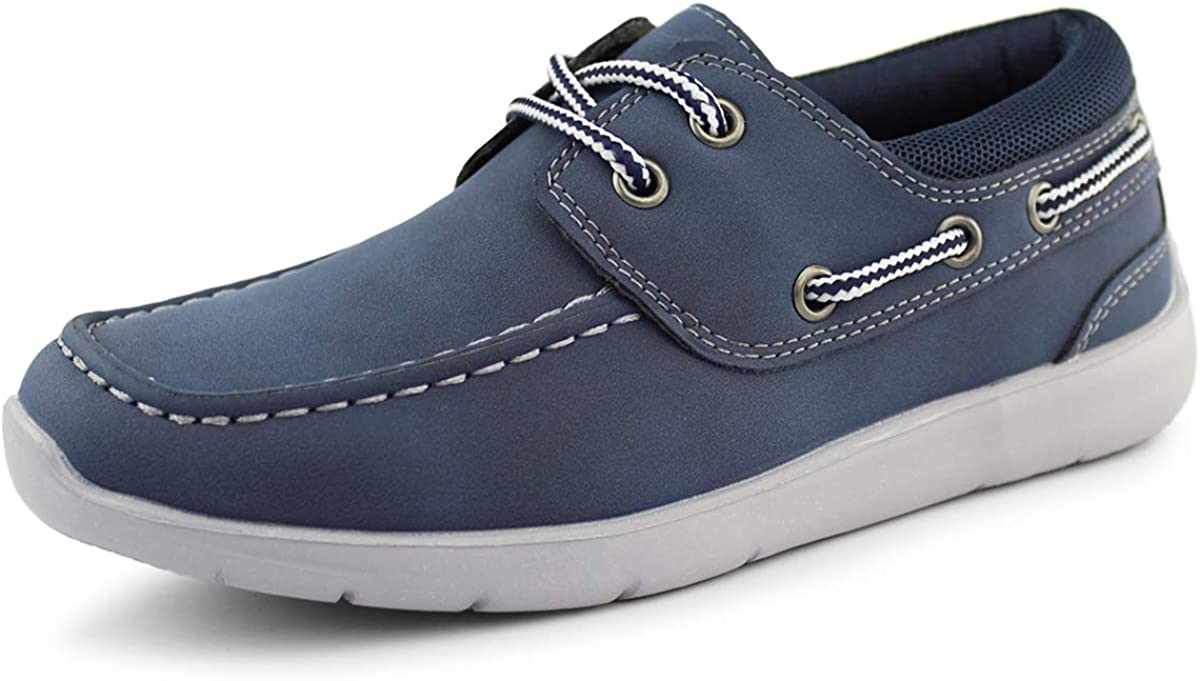Hawkwell Kids Boys Loafers Casual Toddler Little Spasm price Shoes Boat Kid Max 70% OFF