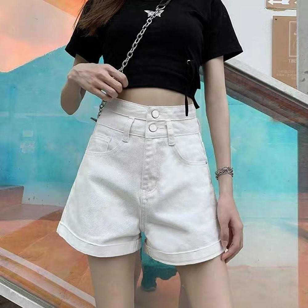 CDDKJDS High quality Denim Shorts Women Vintage Ins Chic All-M 25% OFF College Summer