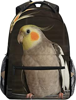a2b00d7f Backpack Travel Cockatiel Wire Bird Cage School Bookbags Shoulder Laptop  Daypack College Bag for Womens Mens
