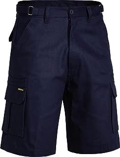 BISLEY WORKWEAR Men's Original 8 Pocket Cargo Short Dark Navy
