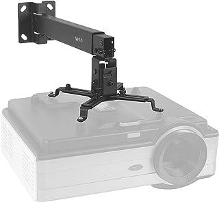 VIVO Black Universal Adjustable Wall Ceiling Projector Mount Bracket | Extendable Length Projection (MOUNT-VP06B)