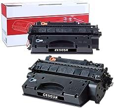 Paquete de 2 cartuchos de tóner CE505X, reemplazo compatible para la impresora HP Laserjet P2055 P2055D 2055DN 2055X series, no hay diferencia en la calidad que