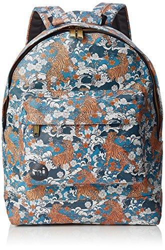 Mi-Pac Oriental Tigers Rucksack, lässiger Tagesrucksack, 41 cm, 17 l, mehrfarbig