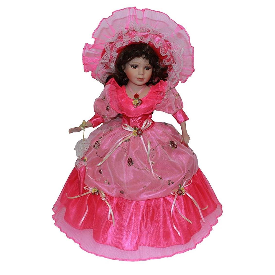 周りレキシコン空SM SunniMix 人形 ドール 磁器人形 フィギュア 立ち人形 巻き毛 子供 おもちゃ ホーム オフィス デコレーション