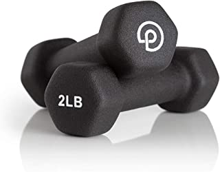 P.volve 2 lb. Hand Weights for Home Workouts