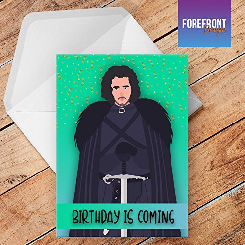 Geburtstagskarte mit Aufschrift