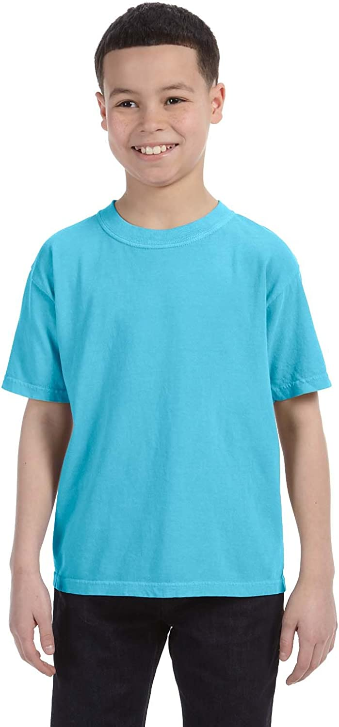 Comfort Colors Chouinard Big Boys Set in Sleeves Double Needle T-Shirt