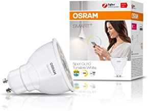 OSRAM Smart+ LED, ZigBee GU10 Reflector, Warm White to Daylight (2000K - 6500K), dimmable, Directly Compatible with Echo P...