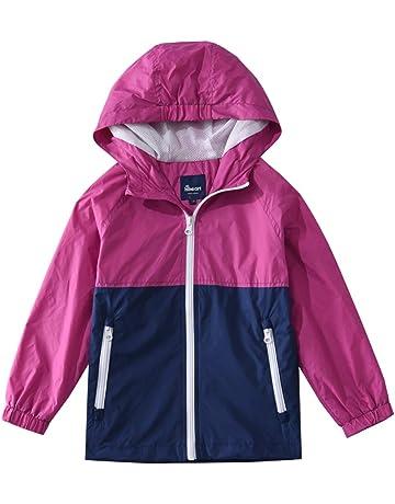 90d8b59c864cb5 Hiheart ジャケット キッズ ウインドブレーカー 子供服 アウター 撥水 軽量 通気 登山 男の子 女の子