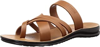 PARAGON Men's Brown Formal Thong Sandals - 10 UK/India (44 EU)(PU6673-61)
