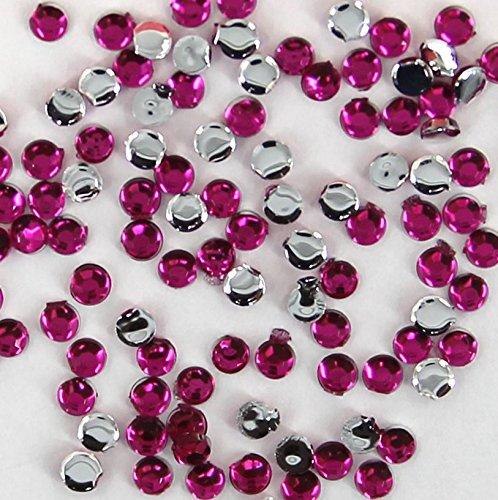Strass-Steine 2 mm Pink