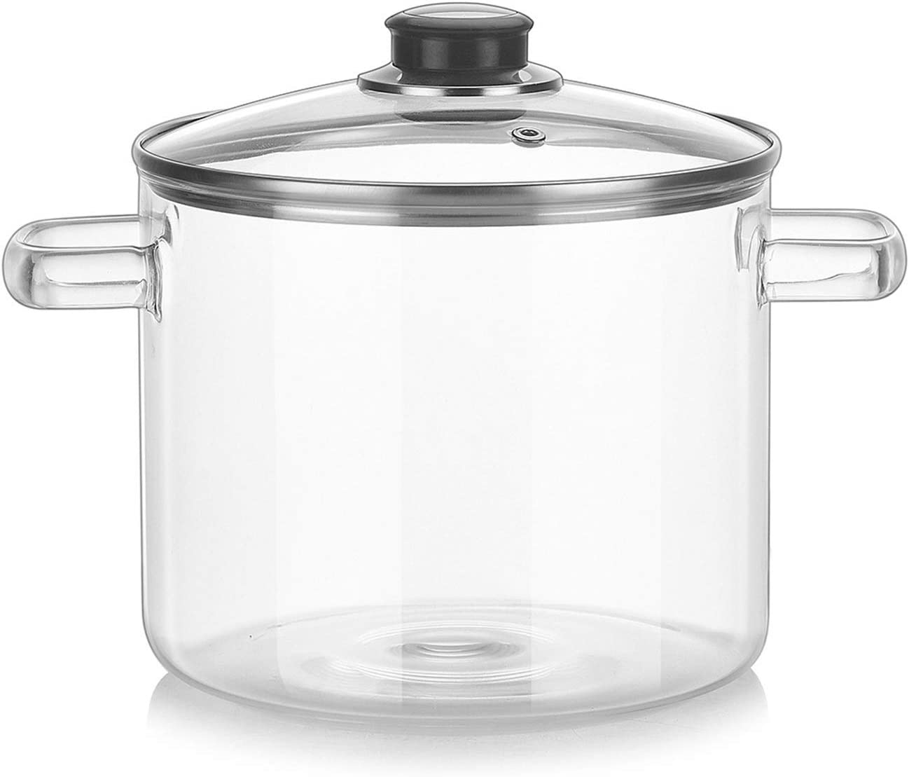 Soup Pot Household Glass Saucepan Transparent Bo Max 64% Beauty products OFF