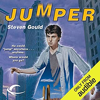 Jumper audiobook cover art