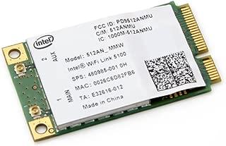 New Intel 5100 WIFI 512AN_MMW 802.11 AGN 300Mbps Mini PCI-E Laptop Wireless Card