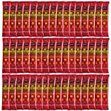 NOMU On-The-Go Hot Chocolate Packets (Bulk 50 count) 1.06oz - Just Add Water Gourmet Instant Cocoa Powder Mix Individual Sachets