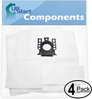 UpStart Battery 8 Replacement for Miele S8990 UniQ Vacuum Bags with 8 Micro Filters - Compatible with Miele Type GN Vacuum Bags (4-Pack, 2 Bags per Pack)