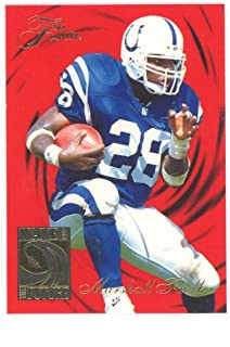 1994 Flair Wave of The Future 2 Marshall Faulk Rookie Card Near Mint Condition Ships in New Holder