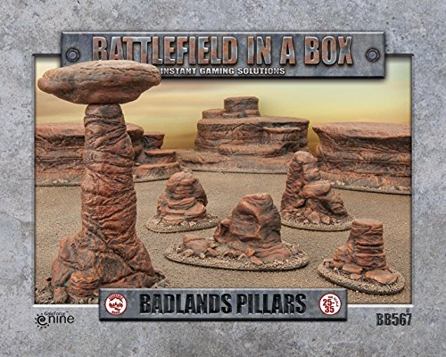 Battlefield in a Box: Badlands Pillars - BB567 -...