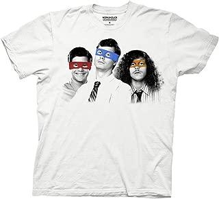 Ripple Junction Workaholics Three Ninjas Adult T-Shirt