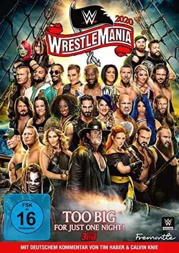 Wrestlemania 36 (3 DVDs)