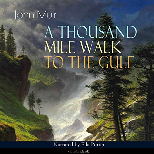 A Thousand Mile Walk to the Gulf audiobook cover art