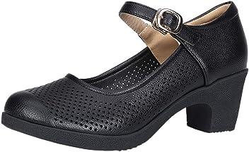 Tefamore Zapatos De Baile Hebilla De Tac/óN Alto para Mujer Zapatos Peque/ñOs Huecos Transpirables Zapatos De Baile Latino Zapatos Individuales