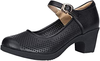 Celucke Sandalette Jazzschuhe Damen Standard Tanzschuhe Spanische Flamenco Pumps Trainingsschuh Latein Salsa Tango Prinzessinnen Dance Schuhe Mittelhohe Weiche Sohle Celucke