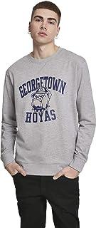 MERCHCODE Men's Georgetown Hoyas Crewneck Sweatshirt