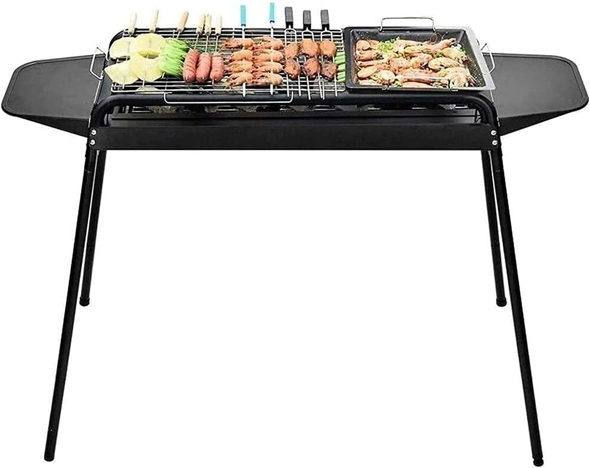 Max 90% OFF ZQYYUNDING Barbecue Finally resale start Grill Portabl Folding Outdoor