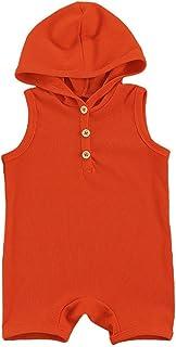 رداء مزود بفنون من الولايات المتحدة الأمريكية مطبوع عليه طفل واحد مزود بفلتر وكاروهات (اللون: برتقالي، مقاس الأطفال: 3T)