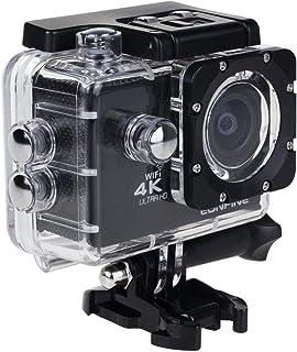 كاميرا 4K سبورت أكشن، شاشة إل سي دي 2 بوصة بدقة 12 ميجابكسل فل اتش دي 1080P 60fps كاميرا رياضية مقاومة للماء مع عدسة ذات ز...