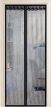 Kellert/ür und Balkont/ür Klebemontage Ohne Bohren Enllonish Magnet Fliegengitter T/ür Insektenschutz Balkont/ür Fliegenvorhang 100x220cm Der Magnetvorhang ist Ideal f/ür Terrassent/ür