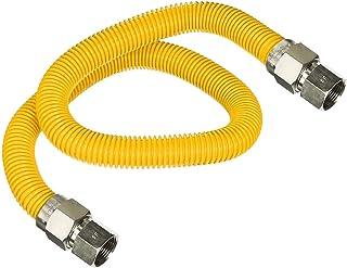 Flextron FTGC-YC38-60E 152 cm elastyczne złącze suszarki gazowej pokryte żywicą epoksydową z zewnętrzną średnicą 1/2 cala ...