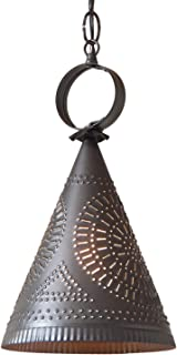 Irvin's Tinware Madison Witch's Hat Pendant Light 13