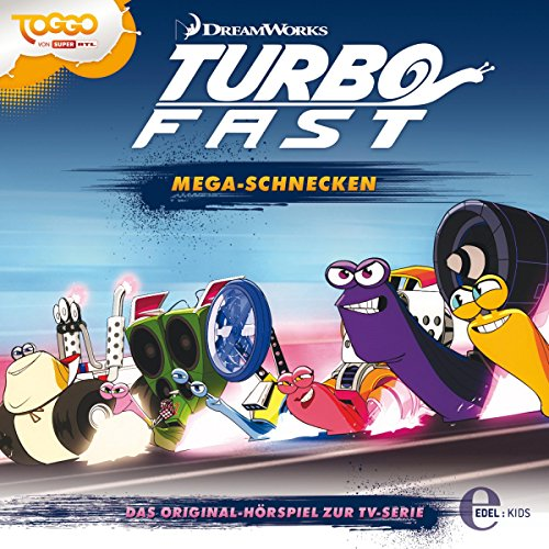 Mega-Schnecken. Das Original-Hörspiel zur TV-Serie Titelbild