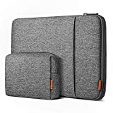 Inateck 360° Protección 13 Pulgadas Funda Compatible con MacBook Air 2020M1-2018, MacBook Pro 2020M1-2016, Surface Pro X/7/6/5/4/3/, 12.4 Surface Laptop Go, XPS 13, 12.9 iPad Pro, Funda para portátil