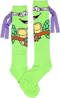 Teenage Mutant Ninja Turtles Don With Mask Knee High Socks