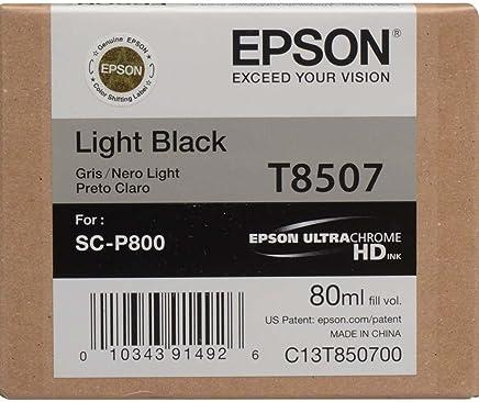 Epson T8507-C13T850700 Açık Siyah Orjinal Kartuş