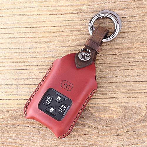 SAXTZDS Caso de la Cubierta de la Llave del Llavero del Coche Remoto, Apto para Toyota Reiz Avalon Revia Previa Alphard Prius