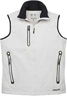 Musto Corsica Gilet Waterproof, Windproof, and Breathable Vest Black XL