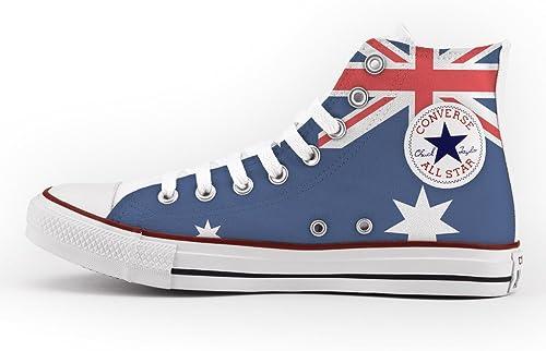 Converse Personalizados e impresos - schuhe de artesanía - Australian Flag