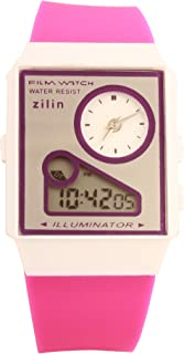 Virom Analog & Digital Purple Colour Watch for Men