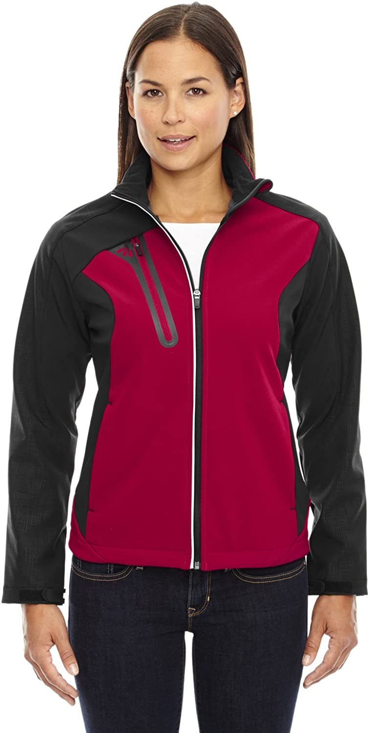 Ash City Women's Terrain colorBlock Shell with Embossed Print