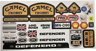 GENERIC MN-90 1/12 Rc قطع غيار السيارات ملصقات DIY متوافقة مع ملحقات الجسم