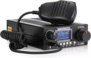 Xiegu G1M G-Core Portable SDR HF Transceiver QRP Quad Band Short-Wave 5W SSB CW AM 0.5-30MHz Mobile Radio Amateur Ham
