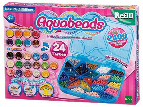 Aquabeads 79958 Maxi Nachfüllbox - Nachfüllset