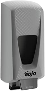 GOJO PRO TDX 5000 Push-Style Dispenser, Grey, Dispenser for GOJO PRO TDX